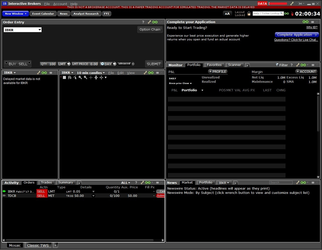 Interactive brokers forex minimum lot size