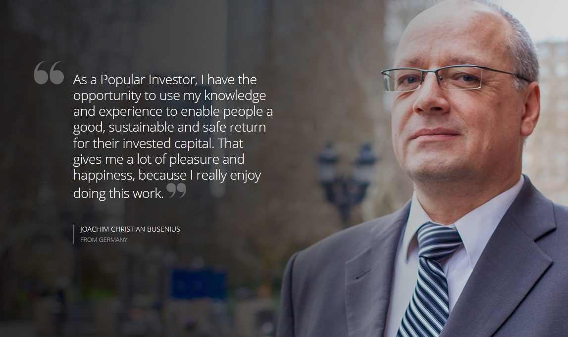 Popular investor in eToro