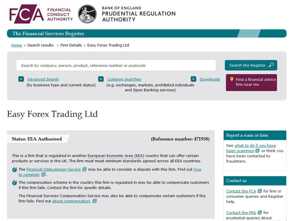 Fca forex regulation