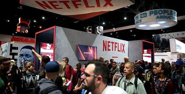 Netflix Shares Soar