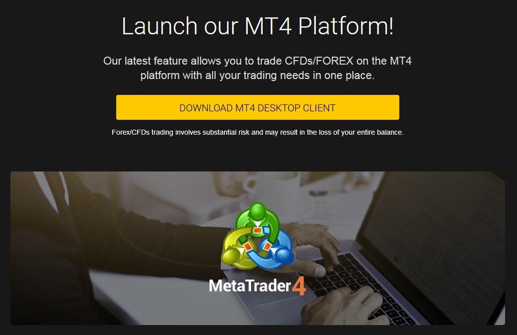 24option MT4 platform download