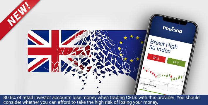 Plus500 Brexit High 50 Index