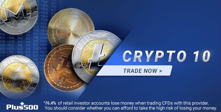 Plus500 Crypto 10 CFD Index