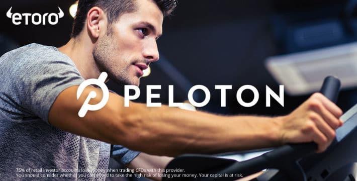 Peloton Stock on eToro's Platform
