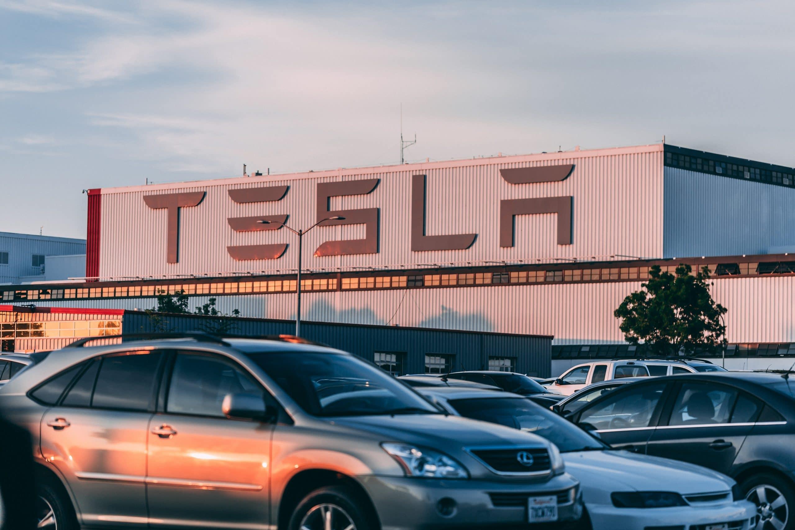 Tesla stocks splitting for the first time