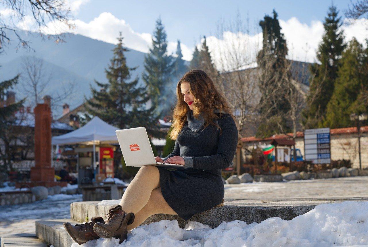 A digital nomad