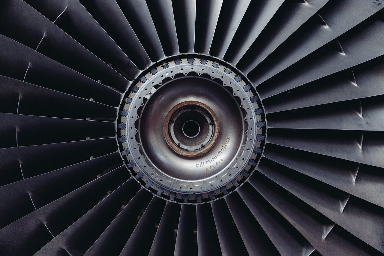 GE also manufactures jet engines